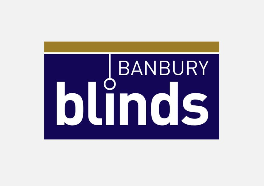 Logo design - Banbury Blinds
