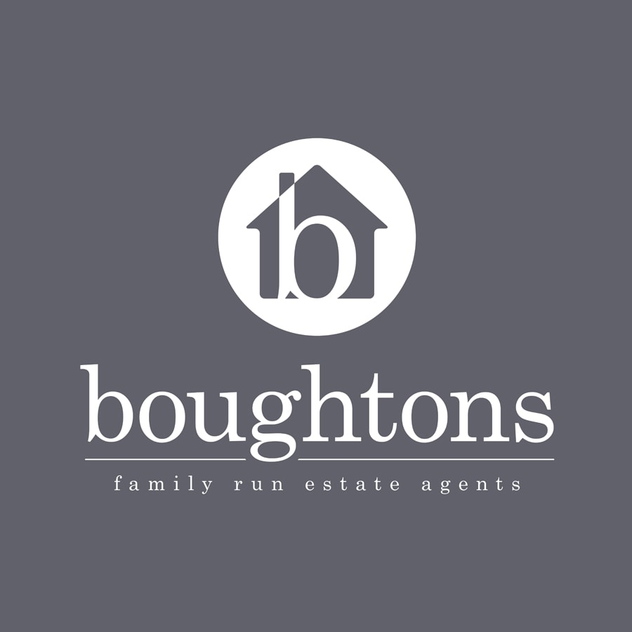 Boughtons logo design