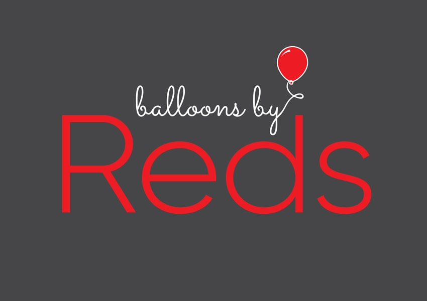 Balloons By Reds logo design