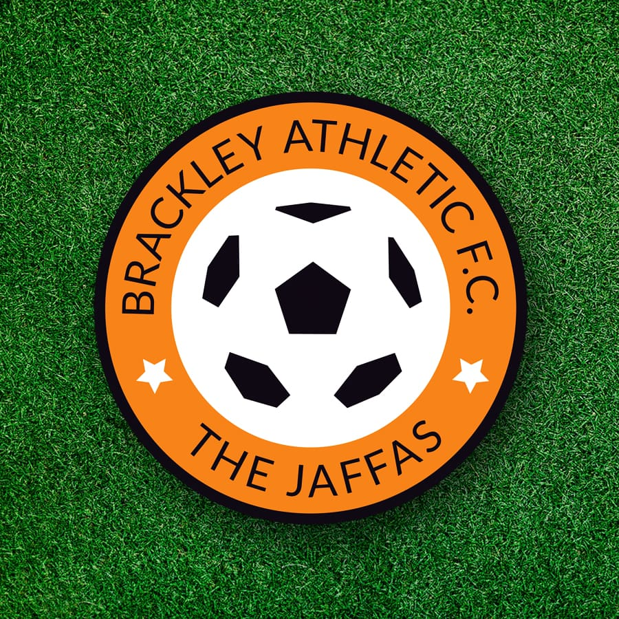 Brackley Athletic logo design