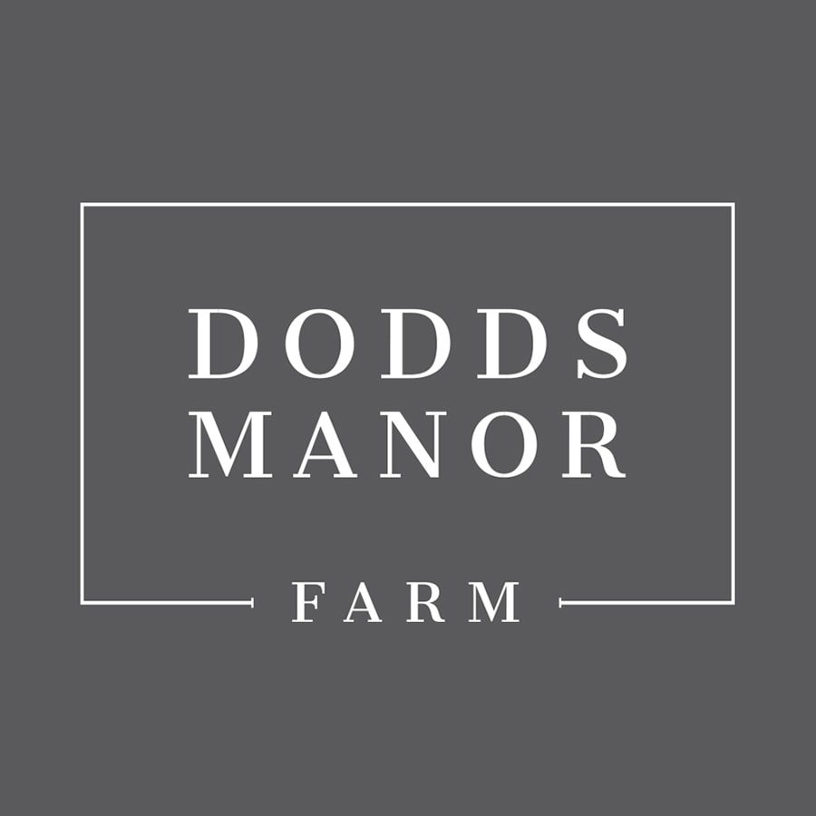 Dodds Manor logo design