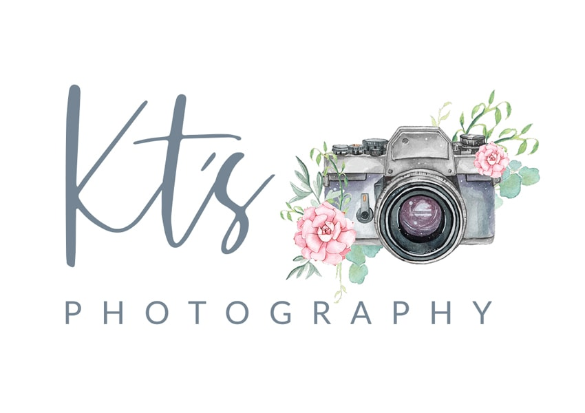KT's Photography logo design