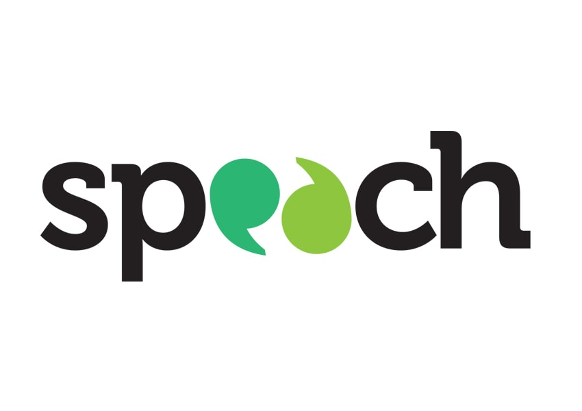Speach logo design