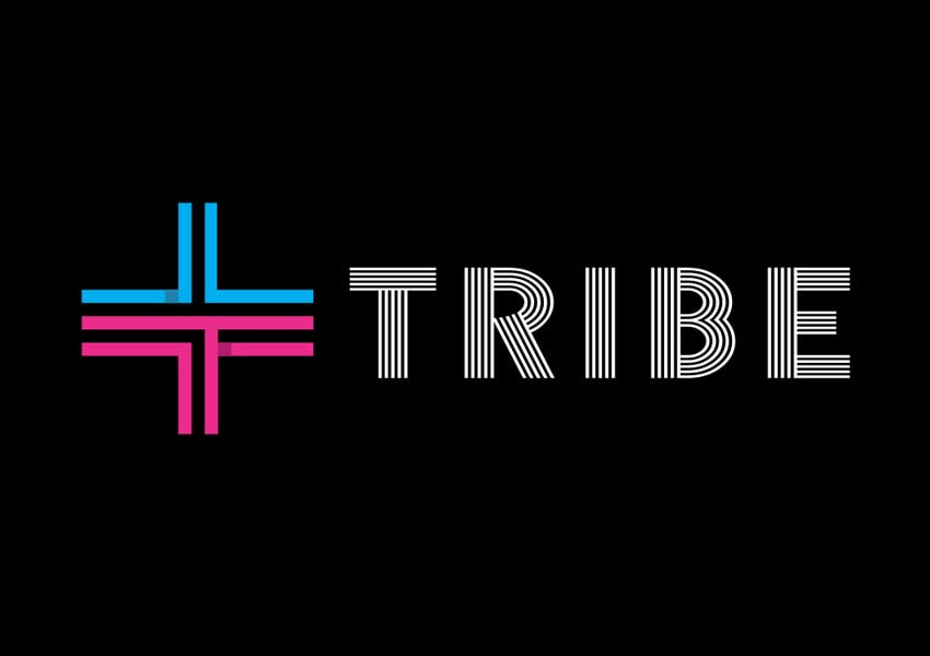 Tribe Events logo design